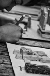 Laboratorio di costruzioni in Mosaico in Pietra