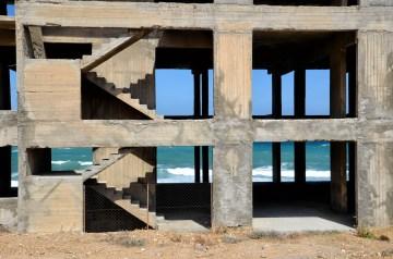 edificio abbandonato a Creta