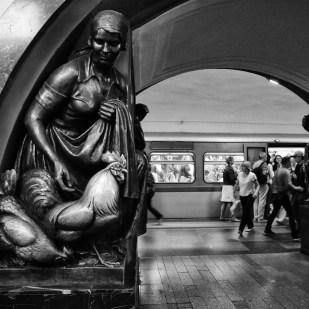 Ploshchad' Revolyutsii - Mosca Metro