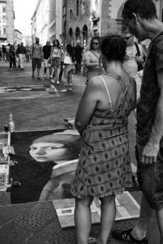 Ammirando i Madonnari, via Calimala