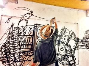 disegno-di-un-graffito-nel-sottopasso-delle-cure-a-firenze