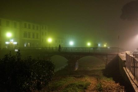 Quartiere le cure con Nebbia di Notte - Firenze-10