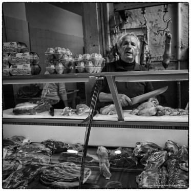 Mercato di Catania - Macellaio