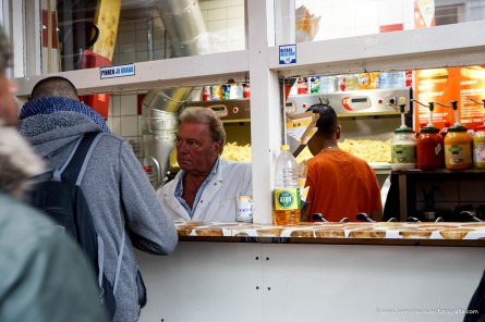 Amsterdam Venditore di patatine fritte