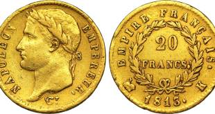 20 francs or napoleon étalon or