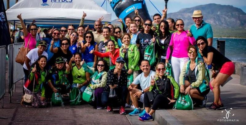 """Somos Runners"" marathon team participants from La Paz"