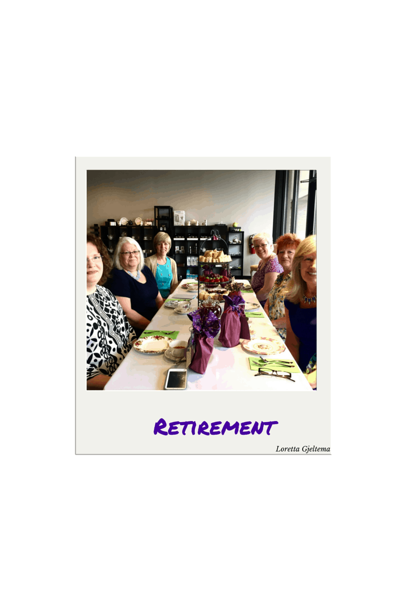 Retirement celebration with working girlfriends.