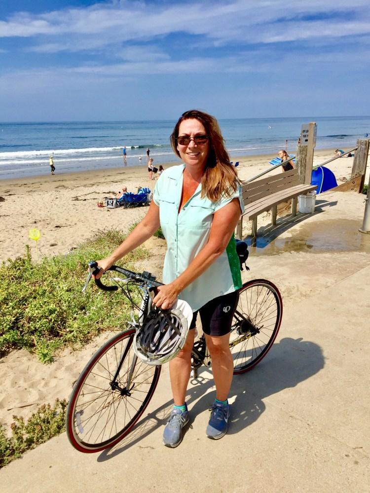 Biking around Santa Barbara