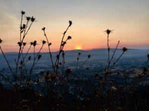 Climbing El Toro to catch the sunrise