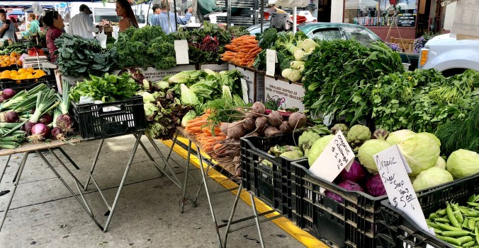 Do you take advantage of your local Farmer's Markets?