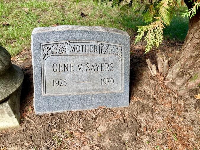My Mom's Headstone