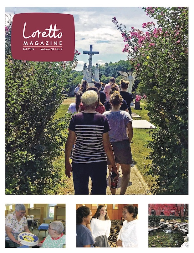Fall 2019 Loretto Magazine Front Cover