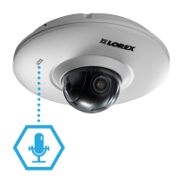 HD security cameras with audio ability