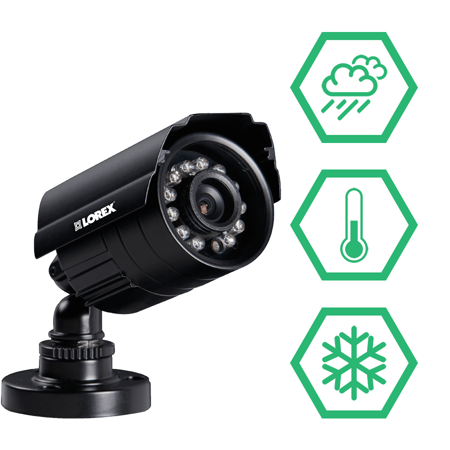 Weatherproof security cameras for all climates