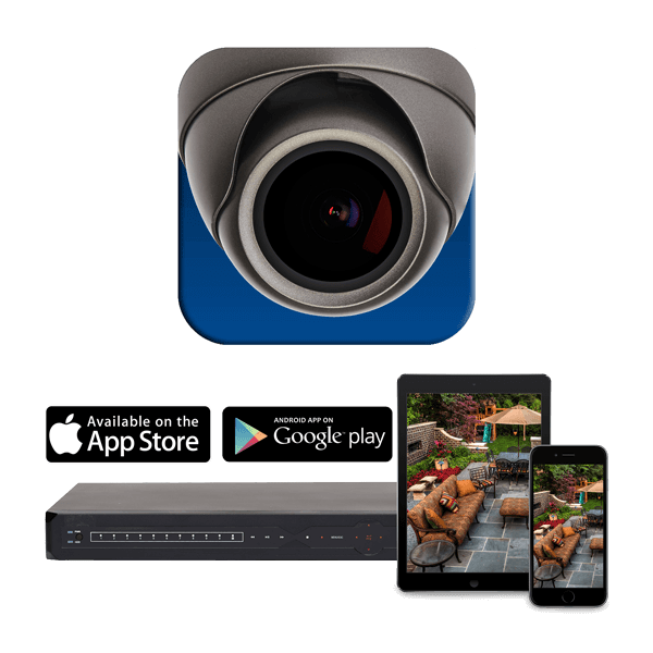 DigiSummit app from FLIR for smartphone or tablet enables remote connectivity to your security system anywhere in the world
