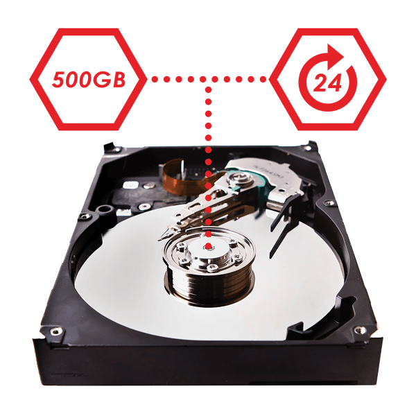 reliable security grade HDD for security systems