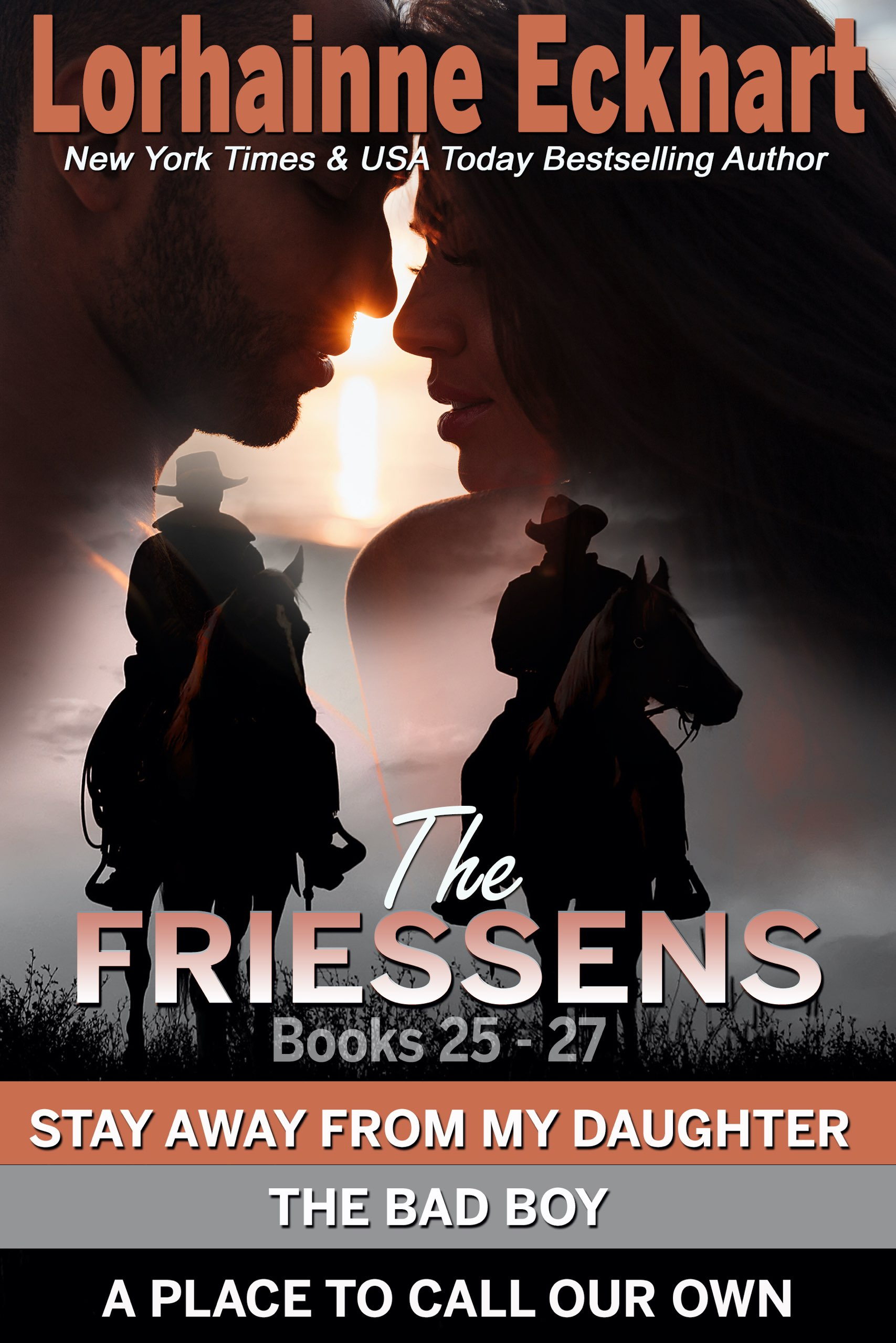 The Friessens Books 25 – 27