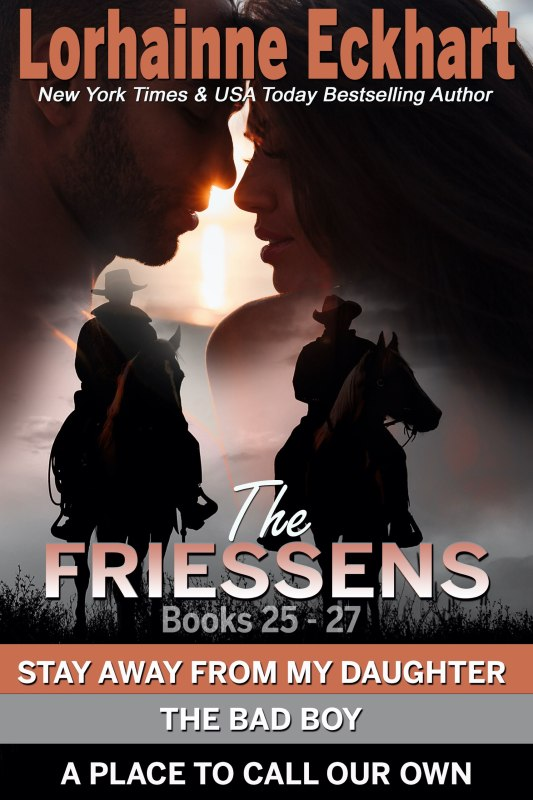 The Friessens Books 25 – 27