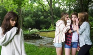 Shyness makes a teen feel her friends are talking behind her back. LoriCalabreseMD