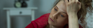 Treatment-resistant depression holds this woman in sorrow, and IV ketamine can help.