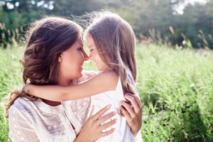 Mom with postpartum depression can now show daughter affection because IV ketamine and treatment-resistant mood disorders.
