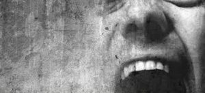 Man screams in agony and needs treatment. Bipolar Disorder : IV ketamine brings relief.