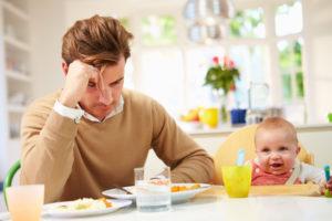 Sad dejected dad: can men suffer postpartum depression, too?