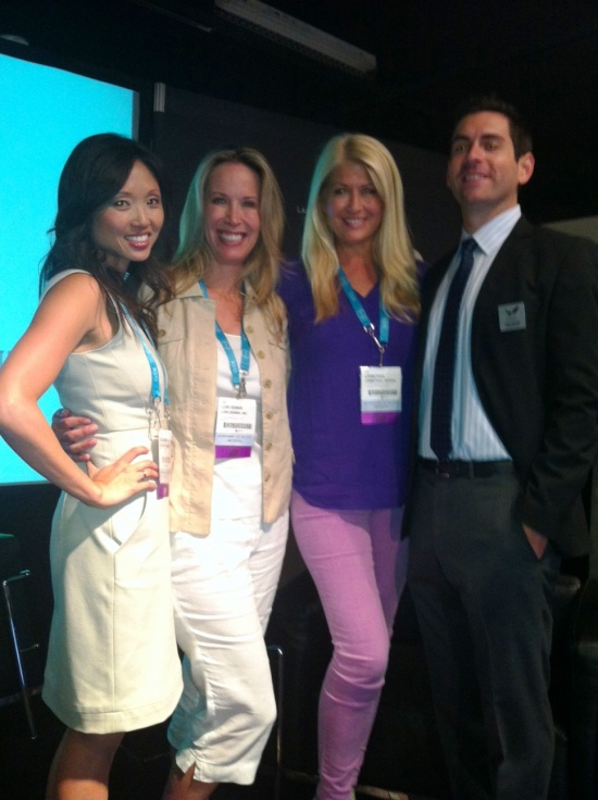 Las Vegas Market Aug 2012 Celebrity Interior Designers Lisa Adams Lori Dennis And Lonni Paul