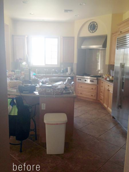 Lori Dennis Interior Design Hip Hacienda Kitchen Before