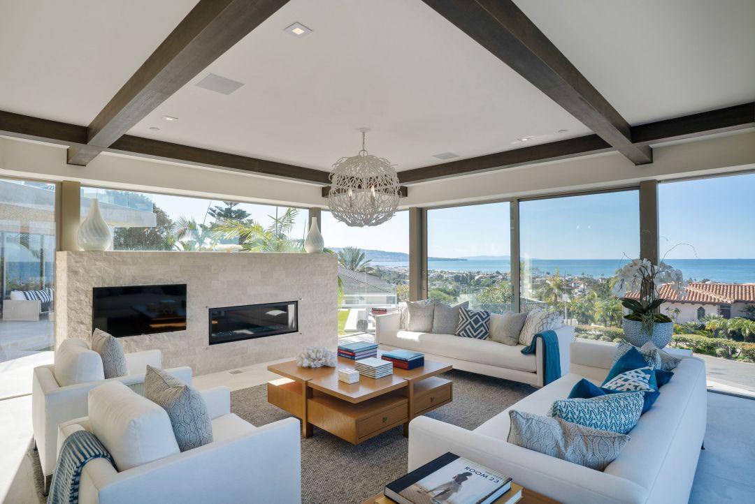 Manhattan beach house with panoramic ocean views