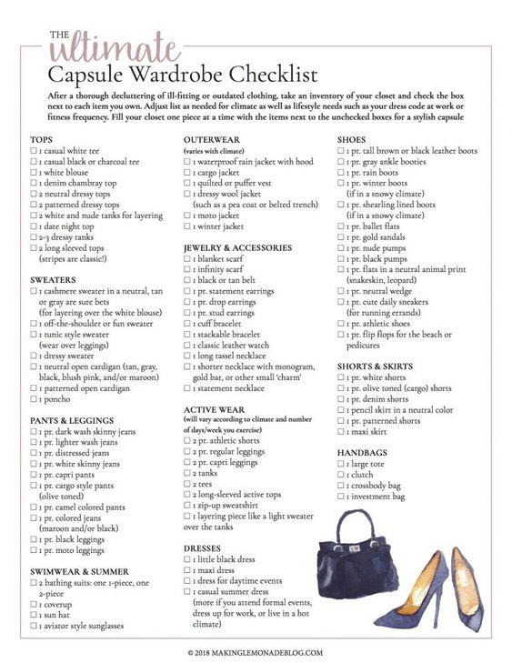 the vegan capsule wardrobe checklist