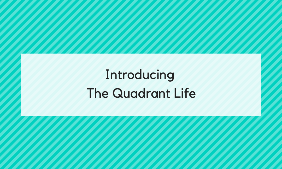 Welcome to the Quad Squad: Introducing The Quadrant Life by Lori Dennis