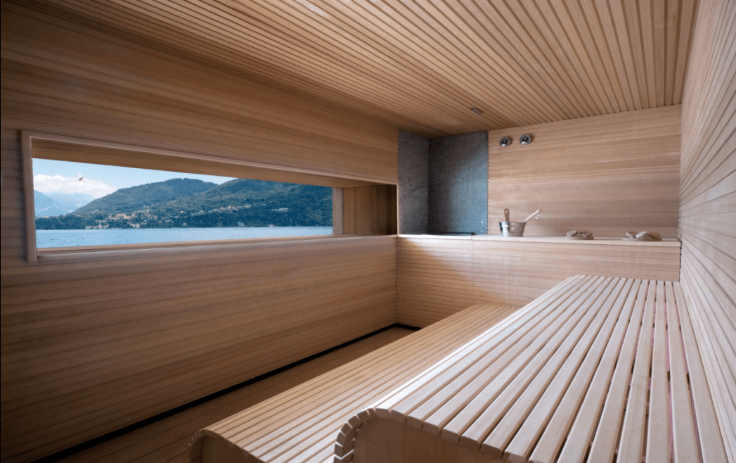 Hotel Sauna Inspiration for Home Sauna Design