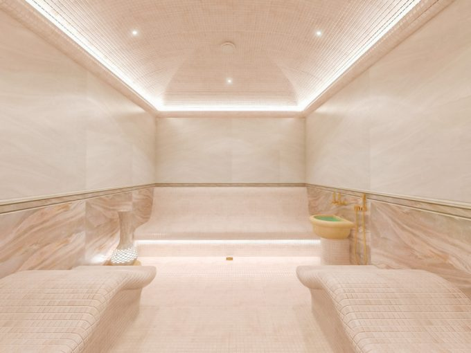 Custom Home Sauna Design Inspiration