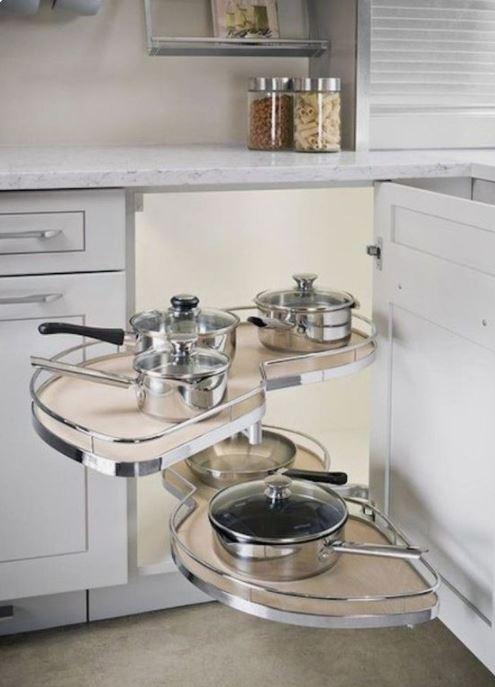 Must Have Kitchen Cabinet Accessory Blind Corner Lazy Susan