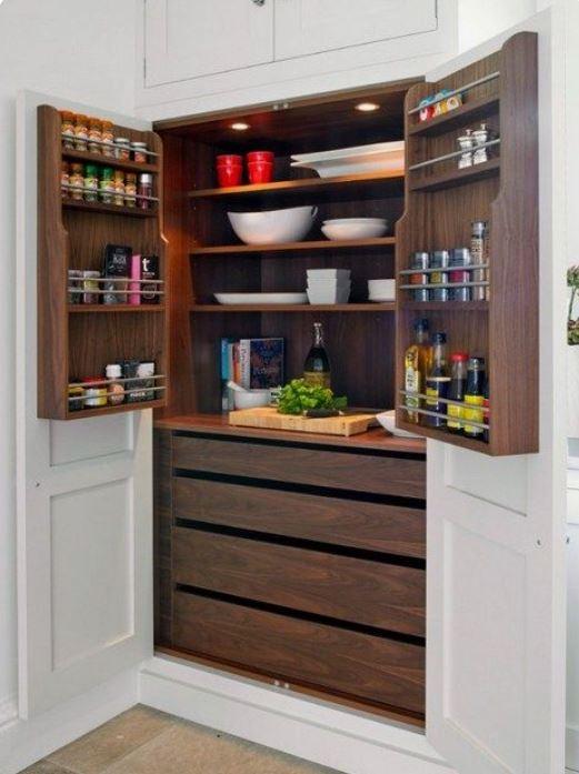 Maximize Kitchen Cabinetry Storage
