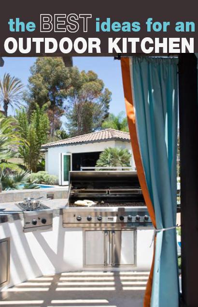 Best Ideas for an Outdoor Kitchen
