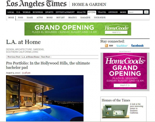 Celebrity Los Angeles Interior Designer Lori Dennis Los Angeles Times August, 2010