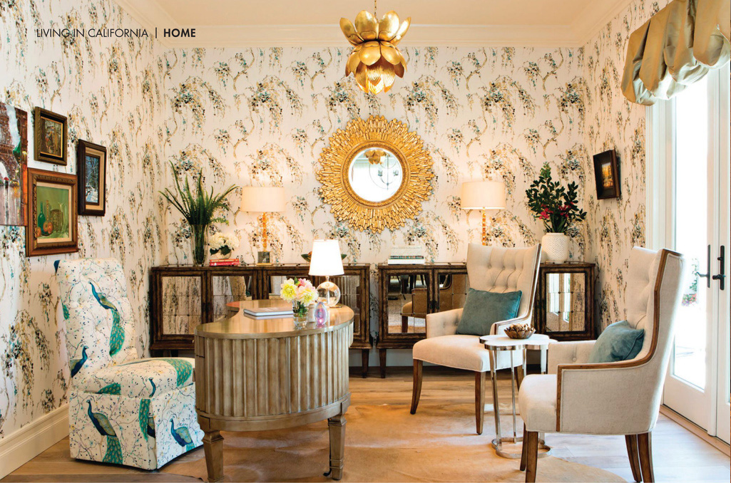Modern Luxury Interiors California Hacienda Chic Lori Dennis 1