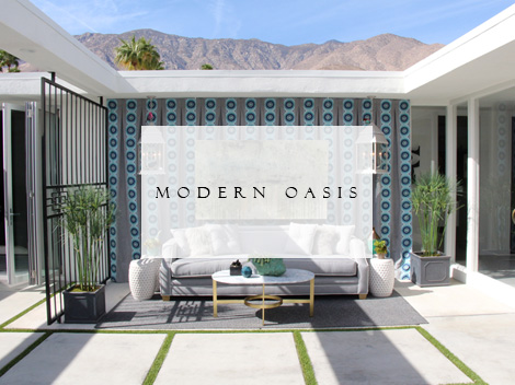 Modern Oasis Lori Dennis Portfolio