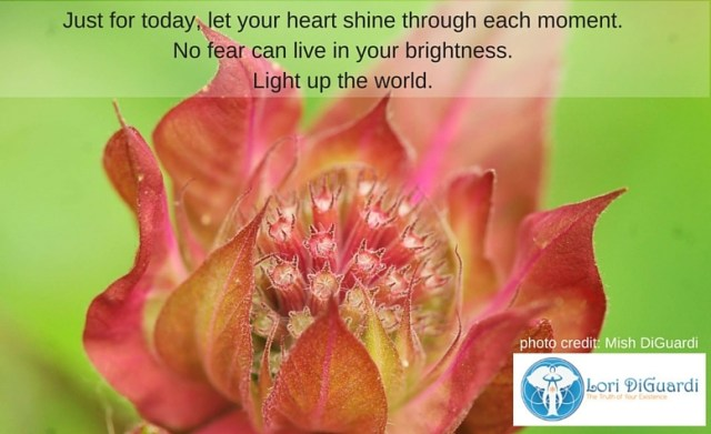 Be A Pillar of Light; Shine From Your Heart