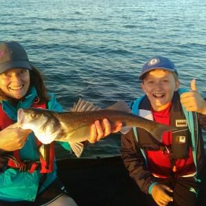 Initiation à la pêche au bar réussie !