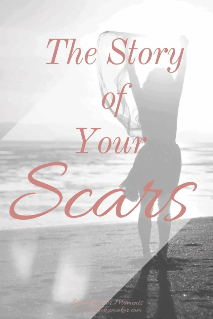 What story do your scars tell? the truth of our story is our victory and the enemy's defeat.