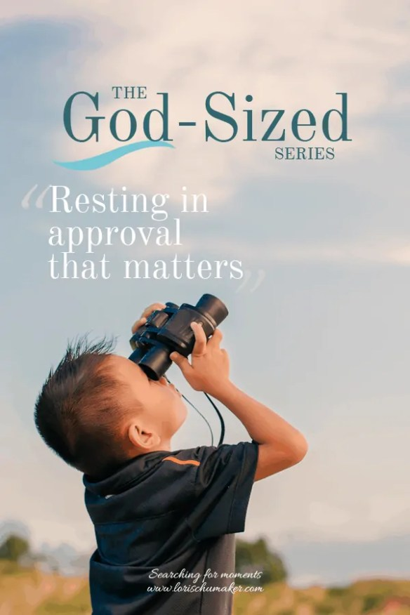 Seeking the approval of others? It's a never-ending game, isn't it? But, there's a better way. We can learn to enjoy the approval of God. Find out how in this wonderfully personal word today.