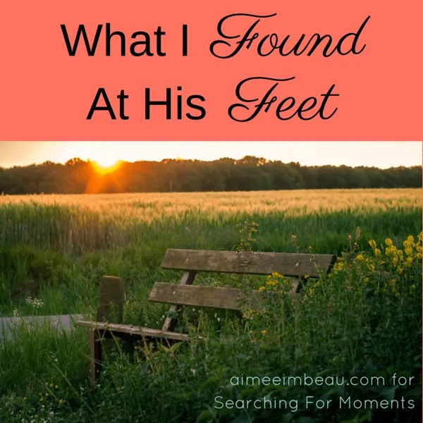 What I Found At His Feet