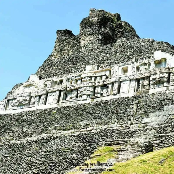Detailed writings on the Xunantunich Ruins