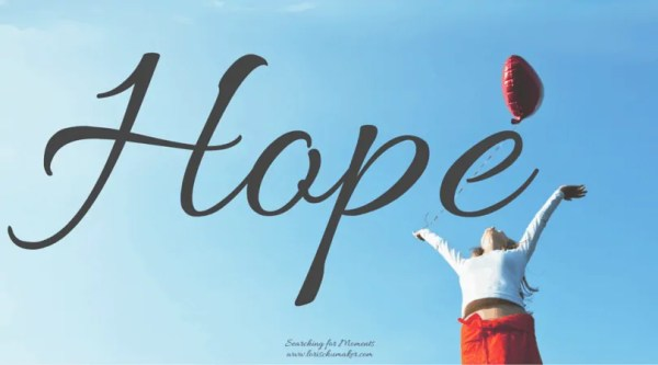 Hope - Moments of Hope - Lori Schumaker