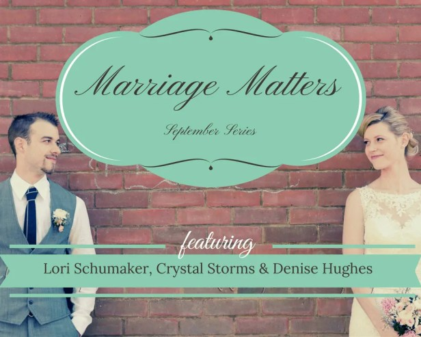 Marriage Matters - a series by Crystall Twaddell
