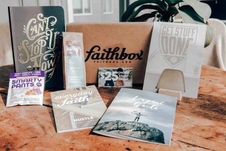 Faithbox - give back gift options