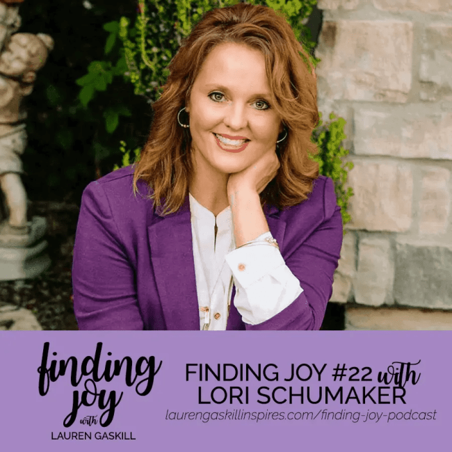 "In this episode, Lori and I talk about: The dangers of people pleasing and looking to others for worth and approval. Learning to substitute the labels others give us for the labels Christ gives us. The difference between knowing and believing God. How God heals us by peeling back layers of our ""onion"" to help us get to the core of who we are in Him. The joy that is found when we say, ""Lord, Thy Will be Done."" How to fight the enemy and keep Him from stealing your joy. Finding Joy - Lori Schumaker"